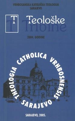 Teološke tribine 2004.